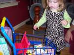 The grocery cart!