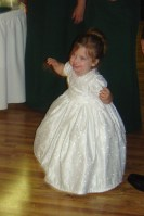 Chloe danced just as well her grandpa did!