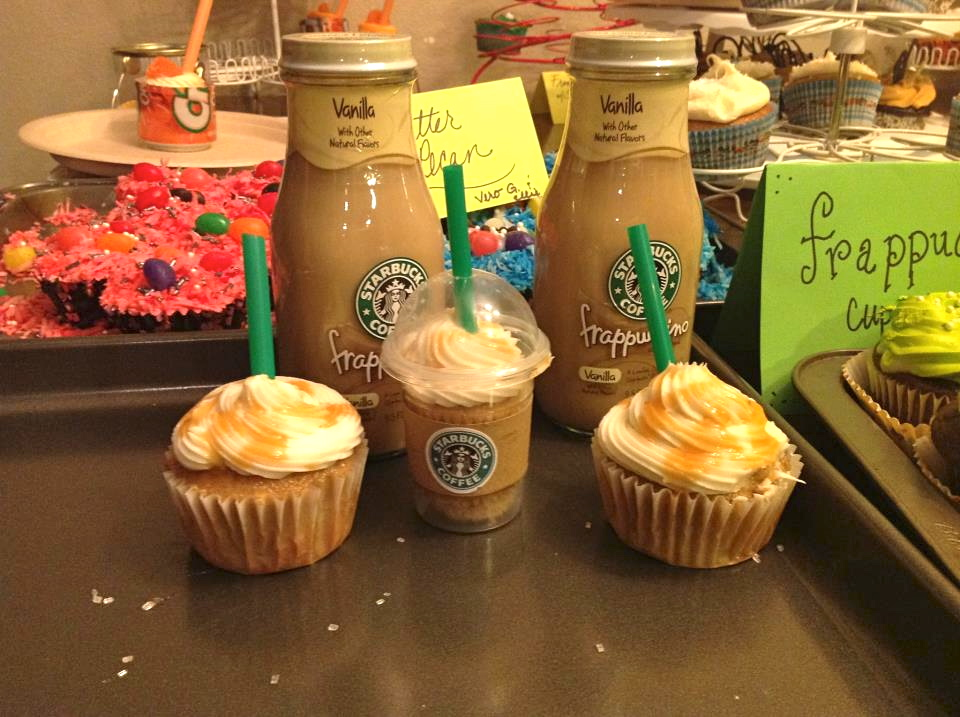The entries cecily not only made the starbucks frappacino cupcakes