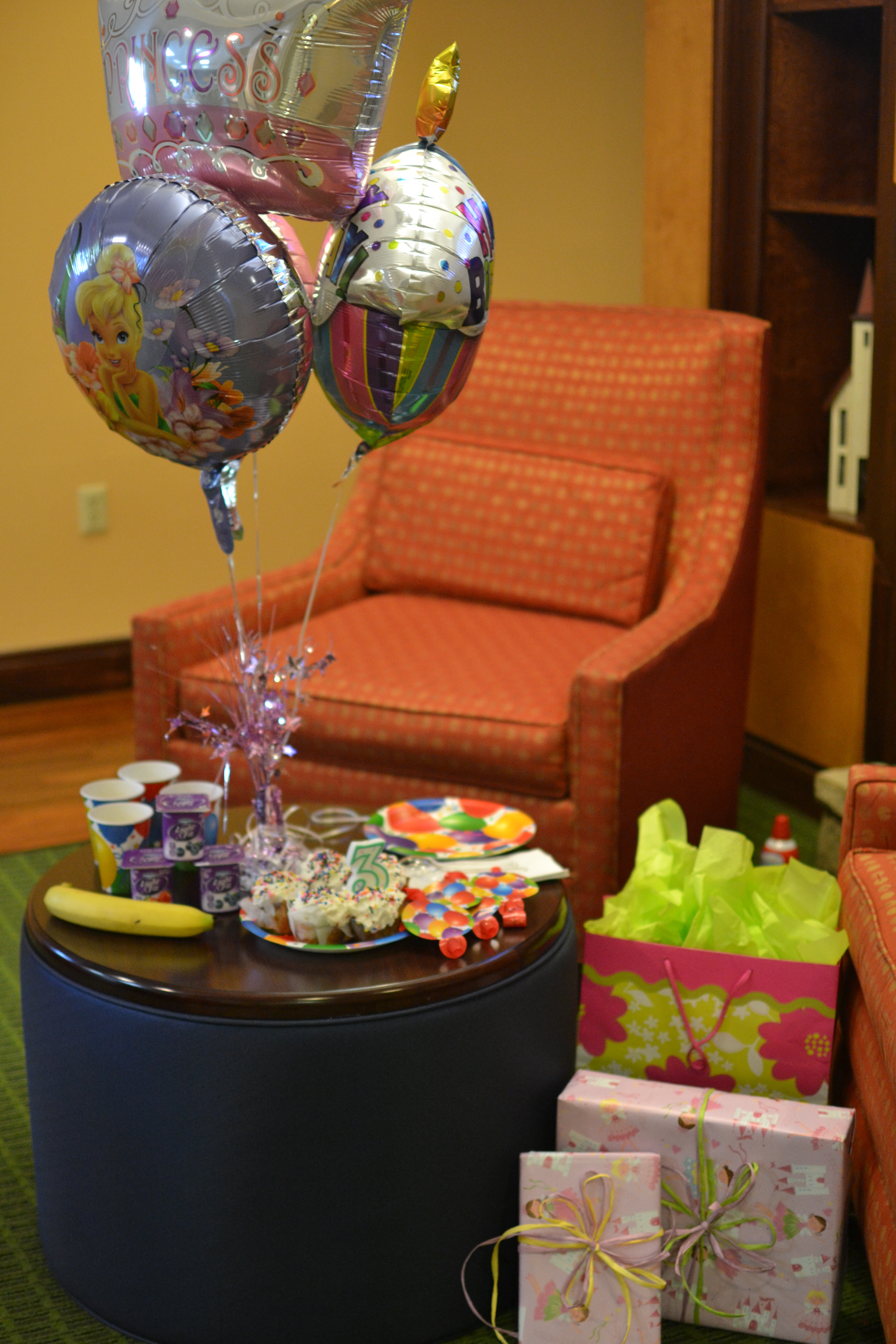 Hotel Room Ideas: How To Pull Off A (cute!) Birthday Party In A Hotel Away