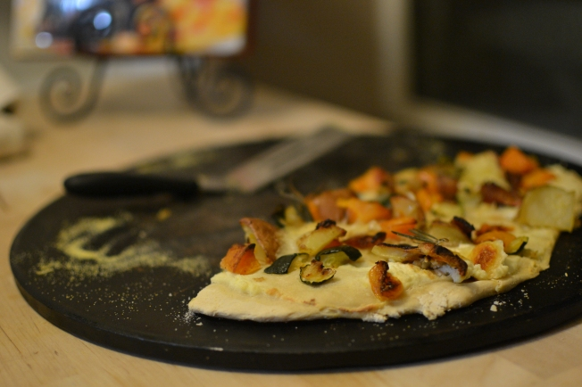 Fall Vegetable Pizza