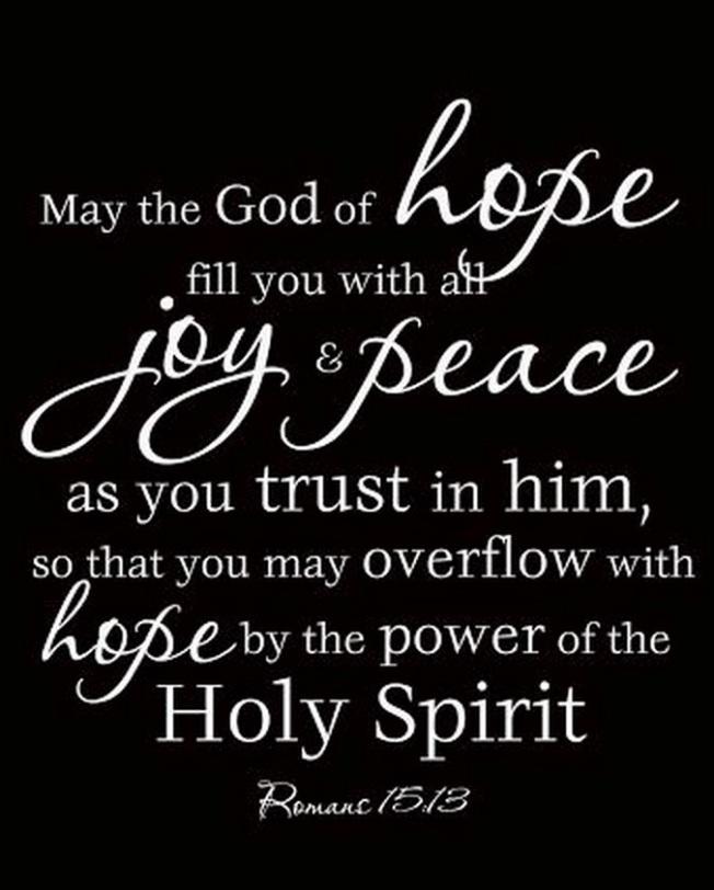Romans 15:13